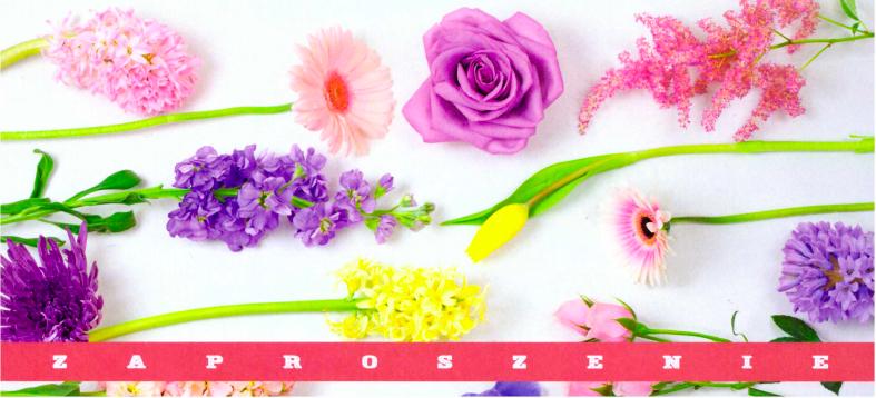 Zaproszenie Na Uroczystą Galę Kwiaty I Wiersze Dla Babci I